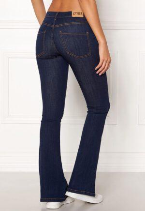 Flared jeans elastiske