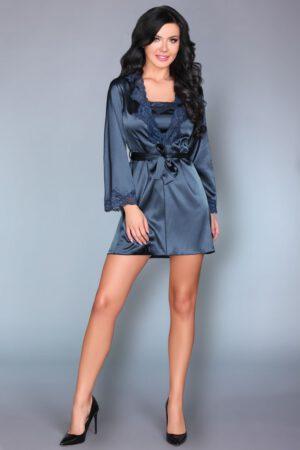 Silkemorgenkåbe, natkjole ogG-strengstrusse