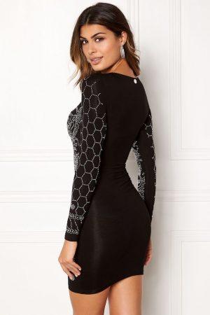 Glitrende kjole