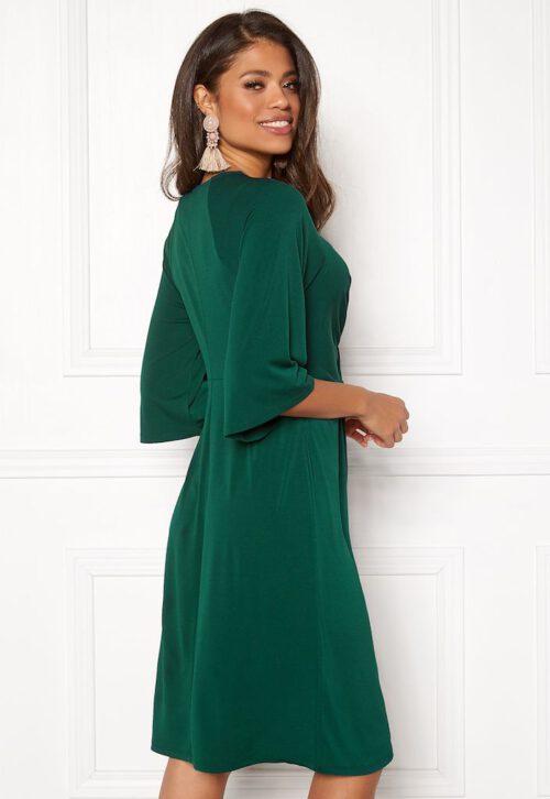 Mørkegrøn kjole