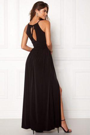 Lang kjole med slids