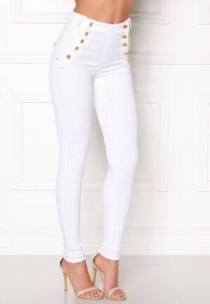 Superflotte jeans med høj talje og stretchy kvalitet - TopLady