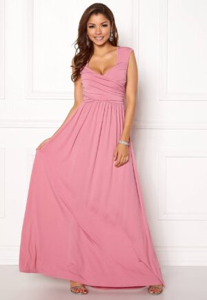 Lang kjole med drapering fra CHIARA FORTHI - TopLady