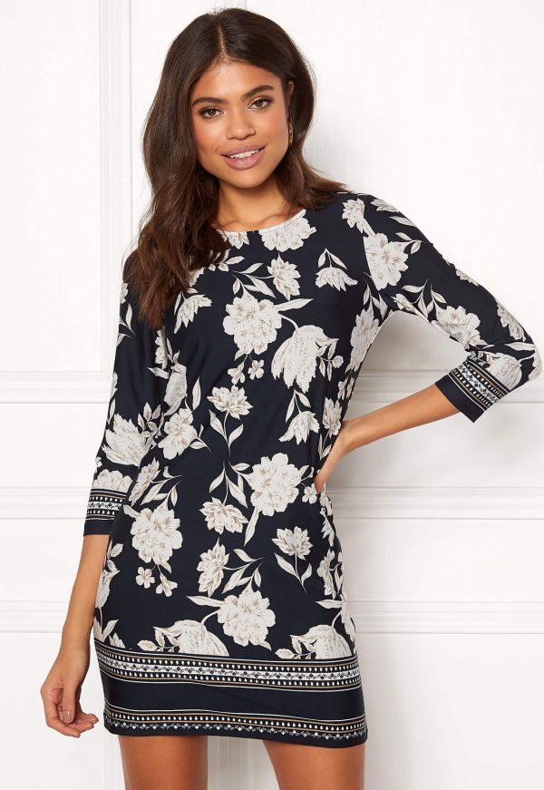 Jerseykjole med smukt mønster fra HAPPY HOLLY - TopLady