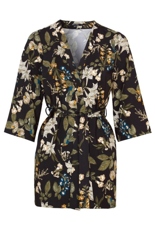 Mønstret kimono - TopLady