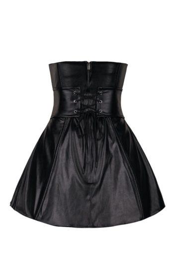 Korsettklänning med korsettbälte - TopLady